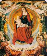 Jean Hey The Virgin in Glory Surrounded by Angels oil painting picture wholesale