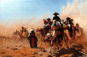 Napoleon and his General Staff in Egypt