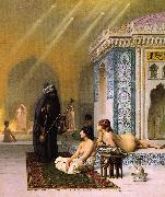 Jean Leon Gerome Harem Pool oil painting