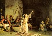Jean Leon Gerome The Dance of the Almeh oil painting