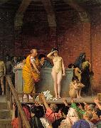 Jean Leon Gerome Slave Auction oil painting