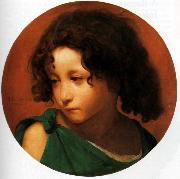 Jean Leon Gerome Portrait of a Young Boy oil painting