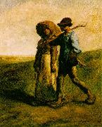 Jean-Franc Millet The Walk to Work oil painting picture wholesale