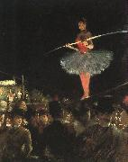 Jean-Louis Forain The Tightrope Walker oil painting artist