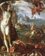 Joachim Wtewael Perseus and Andromeda oil painting