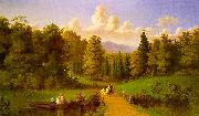 Johann M Culverhouse An Afternoon Outing oil painting picture wholesale