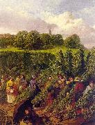 John F Herring The Hop Pickers oil painting picture wholesale