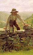 John George Brown The Berry Boy oil painting