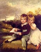 John Hoppner The Bowden Children oil painting artist