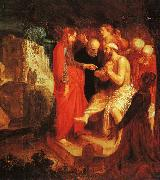 John Pynas The Raising of Lazarus oil painting