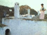 John Singer Sargent View of Capri oil painting picture wholesale