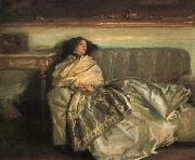 John Singer Sargent Repose oil painting picture wholesale
