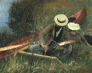 John Singer Sargent Paul Helleu Sketching With his Wife oil painting picture wholesale