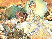 John Singer Sargent Green Parasol oil painting picture wholesale