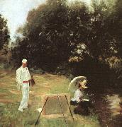 John Singer Sargent Dennis Miller Bunker Painting at Calcot oil painting picture wholesale