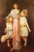 John White Alexander Mrs Daniels with Two Children oil painting picture wholesale