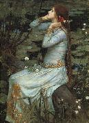 John William Waterhouse Ophelia oil painting