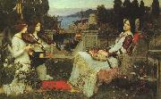 John William Waterhouse St.Cecilia oil painting