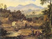 Joseph Anton Koch The Monastery of St.Francis in Sabine Hills, Rome oil painting picture wholesale