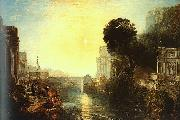 Joseph Mallord William Turner Dido Building Carthage oil painting reproduction