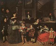 Juan Bautista Martinez del Mazo The Artist's Family oil painting picture wholesale