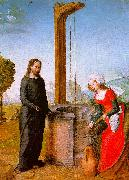 Juan de Flandes Christ and the Woman of Samaria oil painting reproduction
