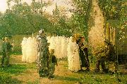Jules Breton The Communicants oil painting artist