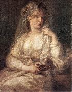 KAUFFMANN, Angelica Portrait of a Woman Dressed as Vestal Virgin sg oil painting picture wholesale