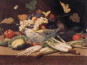KESSEL, Jan van Still-life with Vegetables s oil painting picture wholesale
