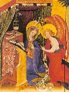 Konrad of Soest Annunciation oil painting reproduction