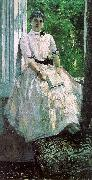 Konstantin Korovin Portrait of the Actress, Titiana Liubatovich oil painting