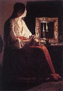 LA TOUR, Georges de The Penitent Magdalen s oil painting picture wholesale