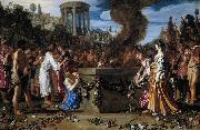 LASTMAN, Pieter Pietersz. Orestes and Pylades Disputing at the Altar s oil painting picture wholesale