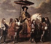 Chancellor Sguier at the Entry of Louis XIV into Paris in 1660 sg