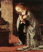 LEONARDO da Vinci Annunciation (detail) ey79 oil painting picture wholesale