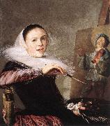LEYSTER, Judith Self-Portrait gu68 oil painting