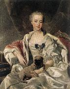 LOO, Louis Michel van Portrait of Catherina Golitsyna s oil painting picture wholesale