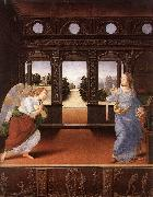 LORENZO DI CREDI Annunciation s6 oil painting