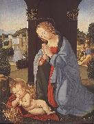 LORENZO DI CREDI The Holy Family g oil painting