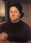 LORENZO DI CREDI Portrait of Perugino sf oil painting