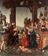 LORENZO DI CREDI Adoration of the Shepherds sf oil painting picture wholesale