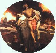 Lord Frederic Leighton And the Sea Gave Up the Dead Which Were in It oil painting picture wholesale