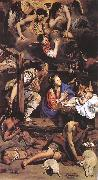 MAINO, Fray Juan Bautista Adoration of the Shepherds sg oil painting