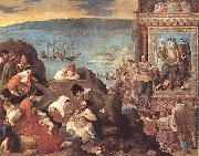MAINO, Fray Juan Bautista The Recovery of Bahia in 1625 sg oil painting
