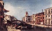 MARIESCHI, Michele View of the Rio di Cannareggio gs oil painting picture wholesale
