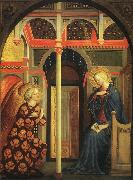 MASOLINO da Panicale The Annunciation syy oil painting artist