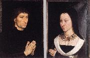 MEMLING, Hans Tommaso Portinari and his Wife wh oil painting picture wholesale