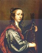 Lady Playing the Lute stg