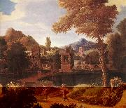 MILLET, Francisque Imaginary Landscape dg oil painting reproduction