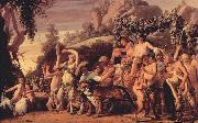 MOEYAERT, Claes Cornelisz. Triumph of Bacchus ga oil painting
